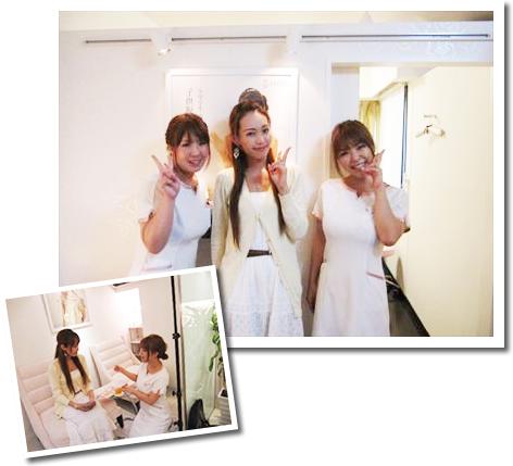モデルの澤野井香織さんも来店される脱毛専門サロン