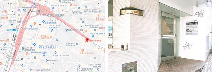 Dione高田馬場店 所在地