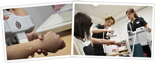 速報!脱毛セミナー in 大阪2012実施レポート ハイパースキン脱毛体験